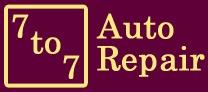 7 to 7 Auto Repair